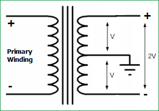 center-tapped-transformer